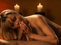 Blowjob From A Blonde Babe