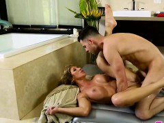 Milf And Busty Farrah Dahl Gets Her Pussy Fucked