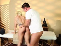 Very Tricky Spa Of Enchanting Masseur