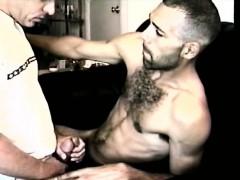 Amateur Str8 Boy Enrique Tugs On Vinnie