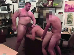 Amateur Paid Cash For Gay Spit Roast, Anal And Oral Fuck