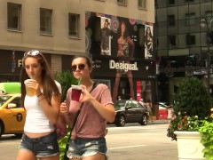 slim-girl-watts-short-shorts-in-ny