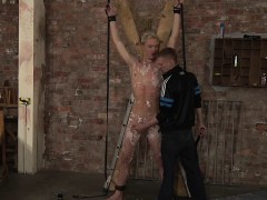 Twink Kris Blent Covered With Wax Finally Gets His Reward