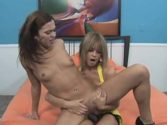 Alluring Girl Fucks Her Enticing Lesbian Lover With A Strap on Dildo