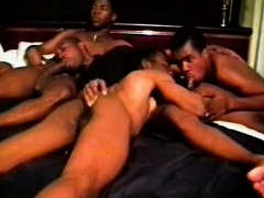 Lustful ebony guys ass wrecking