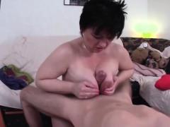 German Milf Tit Fucks