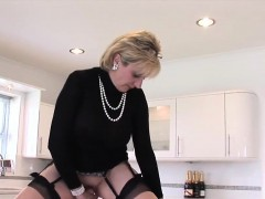 Unfaithful British Milf Lady Sonia Displays Her Huge Boobies