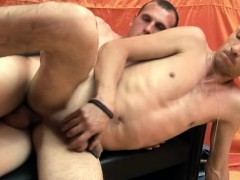 Marvelous Boy Gets His Lovely Ass Drilled Rough In Multiple Positions