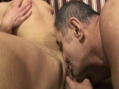 Paralysed Guy Fucks Horny Bitch And Licks Her Pussy