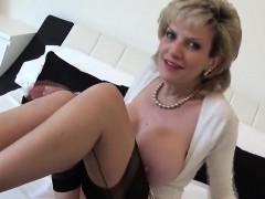 Unfaithful British Mature Gill Ellis Shows Her Big Boobs