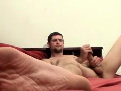 Gorgeous Amateur Twink Nolan Jerks His Hard Prick On A Bed