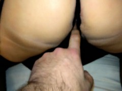 Whore Wife in Stockings and crotch Miki