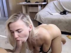 hot-girlfriend-giving-a-big-cock-a-blowjob