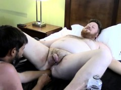 Free Extreme Gay Man Porn Sky Works Brock's Hole With His Fi