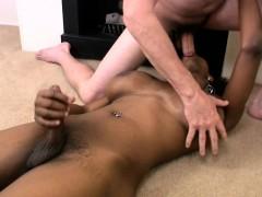 Ebony Tgirl With Huge Tits Deepthroats Big White Cock In Pov