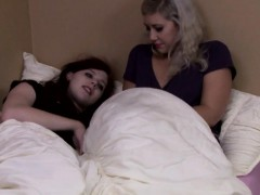 Pierced Lesbian Tgirl Enjoys Licking Pussy
