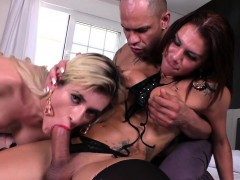 Tgirl Babes Share Dick