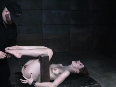 subdued-redhead-slave-pussy-and-nipple-punished