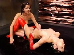 Two Alluring Oriental Chicks Play Out Their Exciting Lesbia