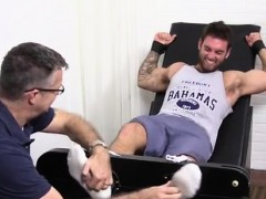 The Way To A Jocks Cock Is His Feet Gay Chase Lachance And I