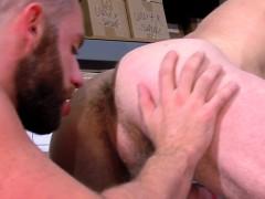 Hairy Buff Bear Cumsprays
