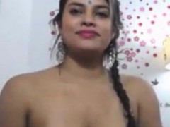 Real Amateur Indian Bindi Forehead Naughty Masturbation