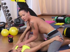 lesbians-fitness-coach-licking-pussy