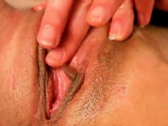 Kissable Kitten Is Gaping Narrow Hole In Close Range And Get