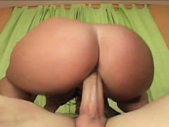 Big Breasted Beauty With A Heavenly Ass Sophie Dee Rides A Long Stick