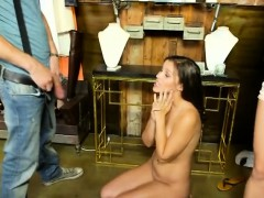 Brunette Bimbo Karter Foxx Sucking Dick In Money Talks Stunt