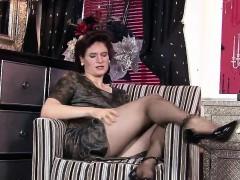 Stylish Fiona In Pantyhose