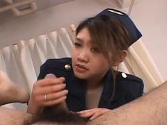 Rio Sakaki Has Hairy Snatch Licked And Fucked