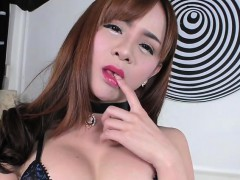 Transbabe Plam Performs Wild In Anal Sex