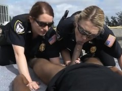 chubby-female-cops-outdoors-sucking-on-great-big-black-dick