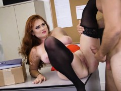 Curvy Assistant Lennox Luxe Gets Good Dicking From Boss