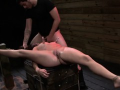 Rough Bdsm Action For Teen Stella May
