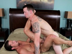 Inked Hunk Drilling Tight Asshole Doggystyle