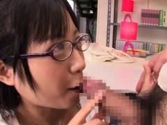 Cocksucking Japanese Teen Fucked On Table