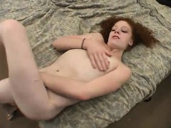 fun-ugly-redhead-is-currently-masturbating-on-camera