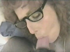 ugly-brunette-woman-in-eyeglasses-hurts-a-cock-in-vintage-m