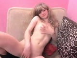 Teen masturbating on cam