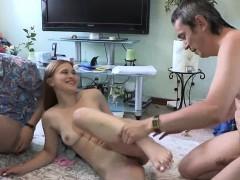 Leggy Chick With Great Forms Of Body Is Getting Drilled Hard