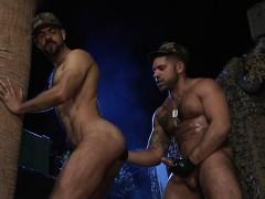 Big Dick Wolf Fisting And Cumshot