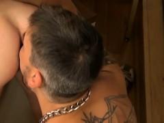 Big Dick Hunk Railing Hard At This Twink Student Until Cum