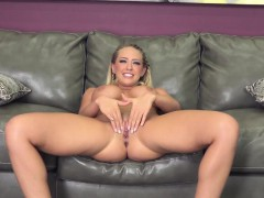 This Busty Blonde Babe Gets Pounded In Every Position