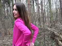elle-rose-in-sexy-jogger-fucked-in-the-woods