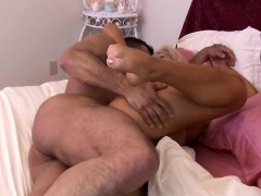 Horny Tranny With Amazing Ass And Tits Gets Wild With Nick