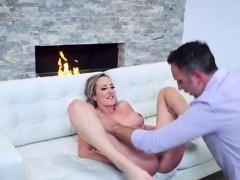 Sexy Secretary Brett Rossi Gets Her Cunt Ruined By Boss