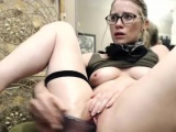 Hot Sexy Blonde Camgirl Plays With Her Pussy And Squirts