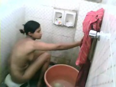 sexy slut naked on hidden cam